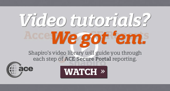 ACE Video Tutorials